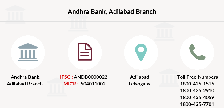Andhra-bank Adilabad branch