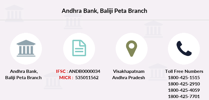 Andhra-bank Baliji-peta branch