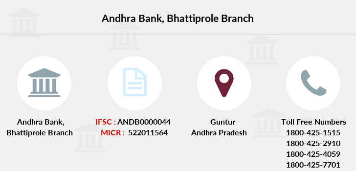Andhra-bank Bhattiprole branch