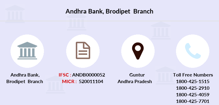 Andhra-bank Brodipet branch