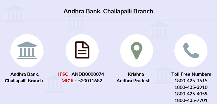 Andhra-bank Challapalli branch