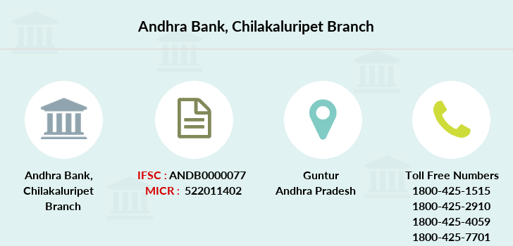 Andhra-bank Chilakaluripet branch