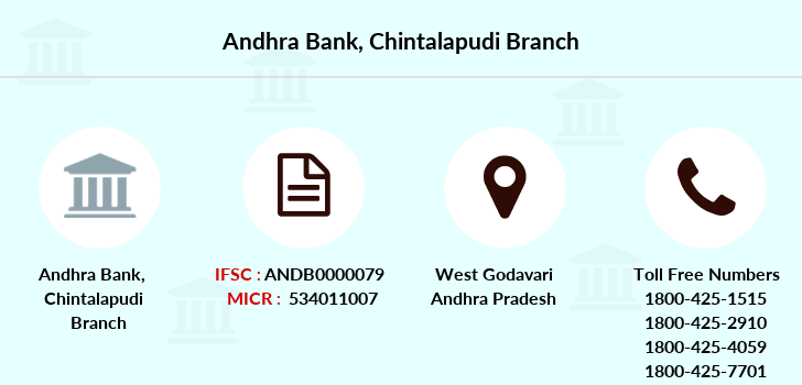 Andhra-bank Chintalapudi branch
