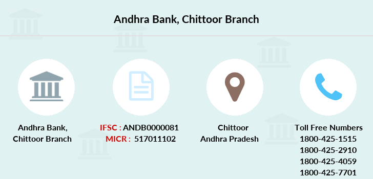 Andhra-bank Chittoor branch
