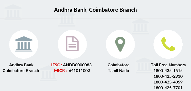 Andhra-bank Coimbatore branch