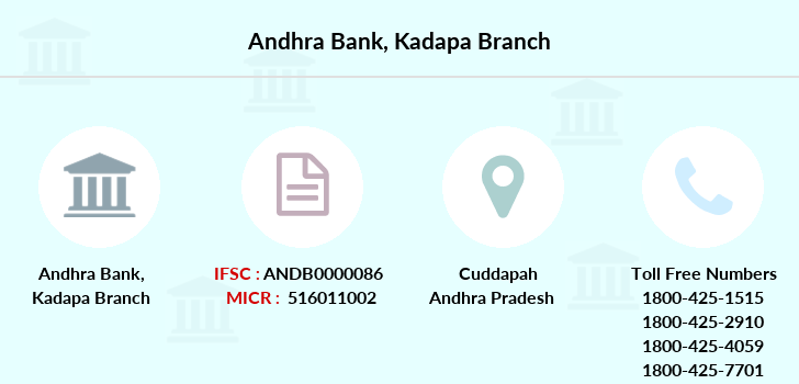 Andhra-bank Kadapa branch