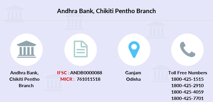 Andhra-bank Chikiti-pentho branch