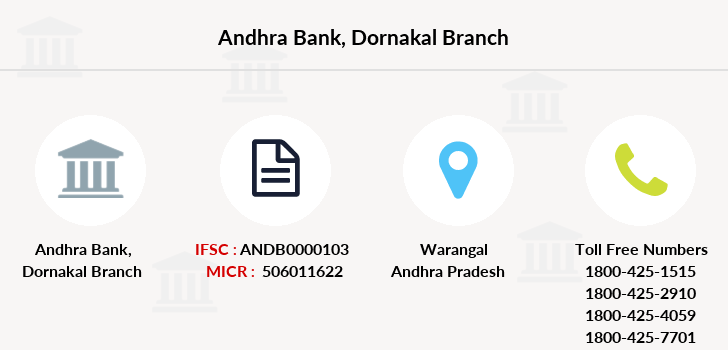 Andhra-bank Dornakal branch