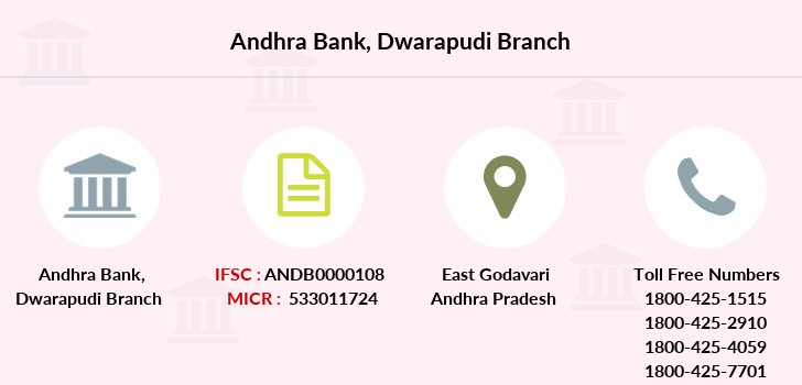 Andhra-bank Dwarapudi branch