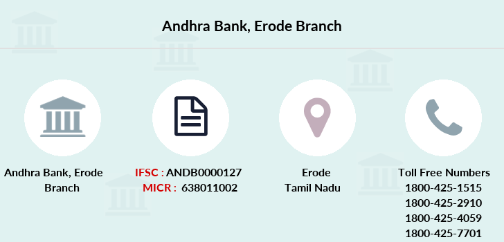 Andhra-bank Erode branch