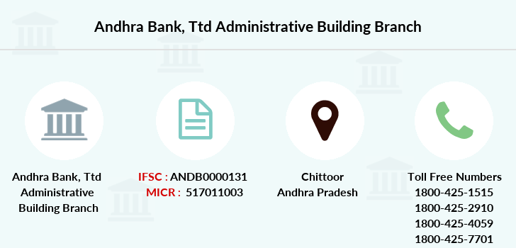 Andhra-bank Ttd-administrative-building branch