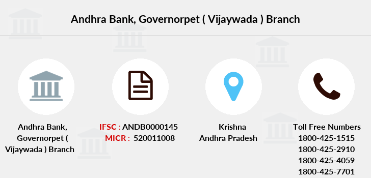 Andhra-bank Governorpet-vijaywada branch