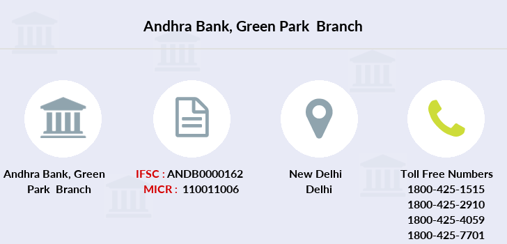 Andhra-bank Green-park branch