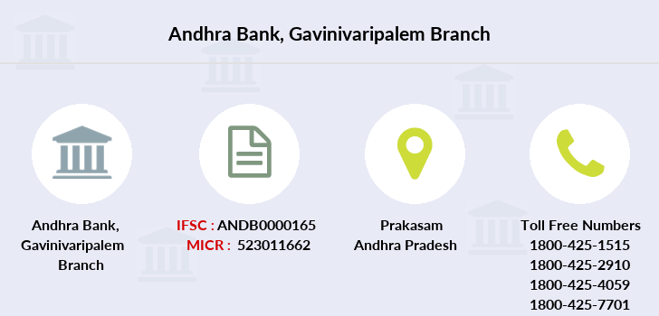 Andhra-bank Gavinivaripalem branch