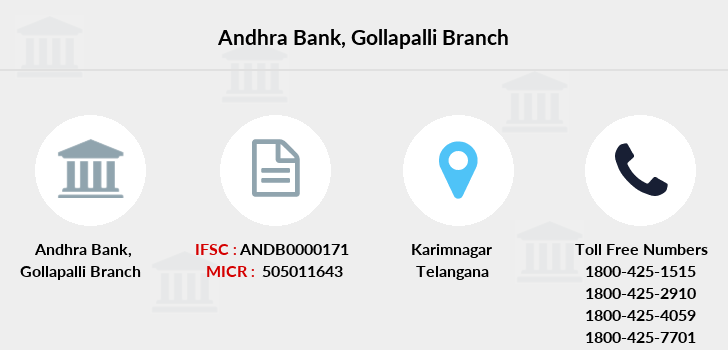 Andhra-bank Gollapalli branch