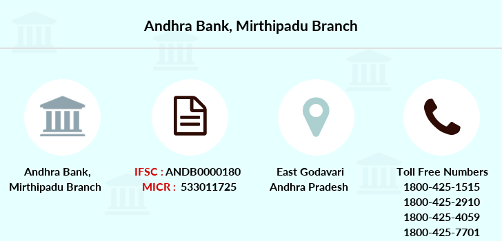 Andhra-bank Mirthipadu branch