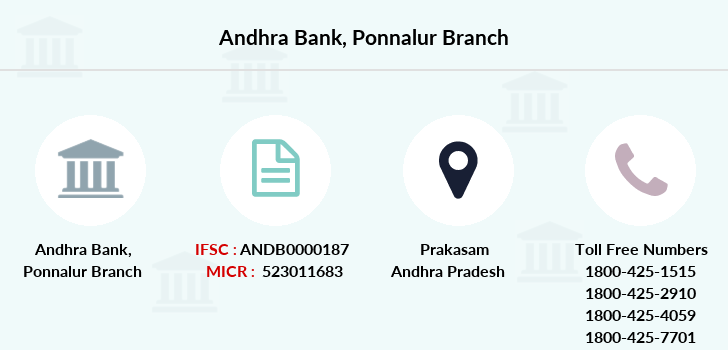 Andhra-bank Ponnalur branch
