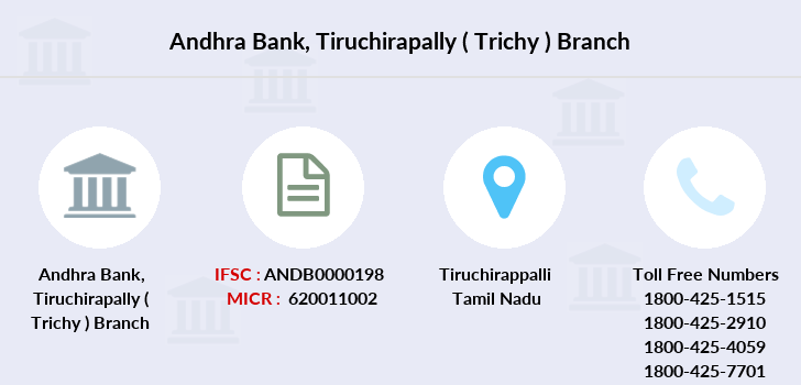 Andhra-bank Tiruchirapally-trichy branch