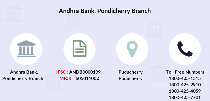 Andhra-bank Pondicherry branch