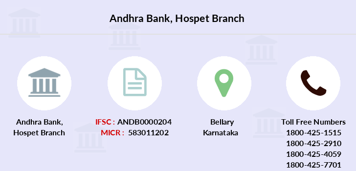 Andhra-bank Hospet branch