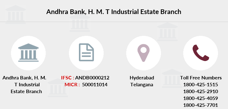 Andhra-bank H-m-t-industrial-estate branch