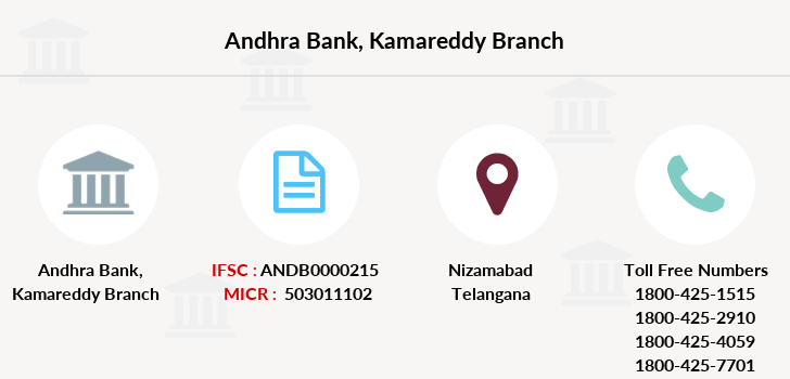 Andhra-bank Kamareddy branch