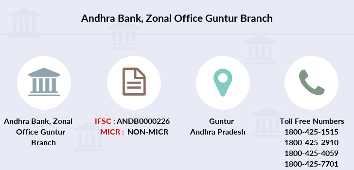 Andhra-bank Zonal-office-guntur branch