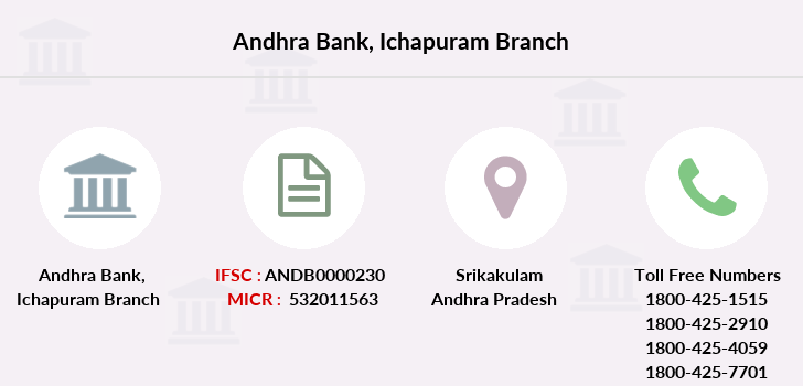 Andhra-bank Ichapuram branch