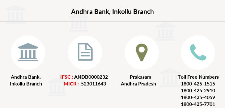 Andhra-bank Inkollu branch