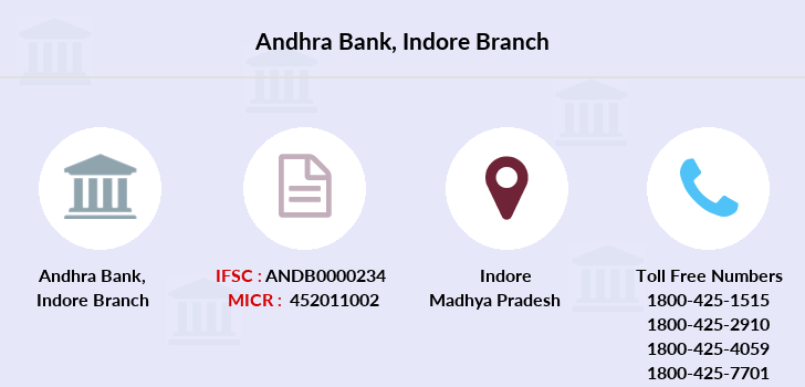 Andhra-bank Indore branch
