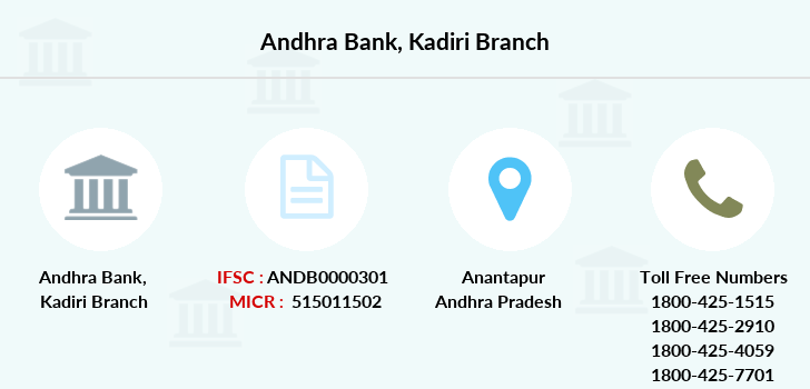 Andhra-bank Kadiri branch