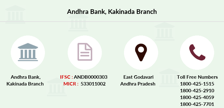 Andhra-bank Kakinada branch