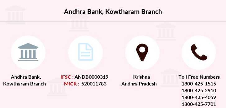 Andhra-bank Kowtharam branch