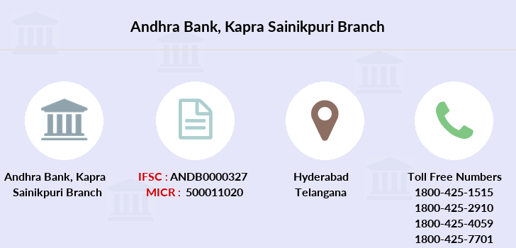 Andhra-bank Kapra-sainikpuri branch