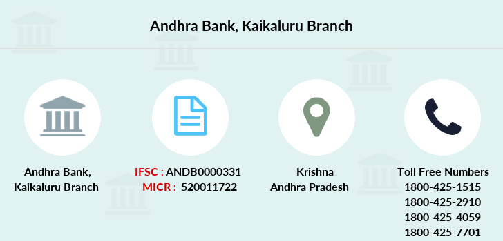 Andhra-bank Kaikaluru branch