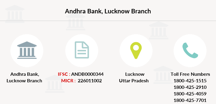 Andhra-bank Lucknow branch