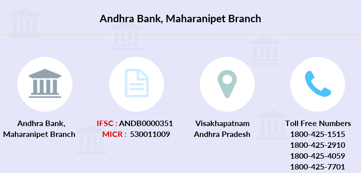 Andhra-bank Maharanipet branch