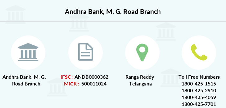 Andhra-bank M-g-road branch