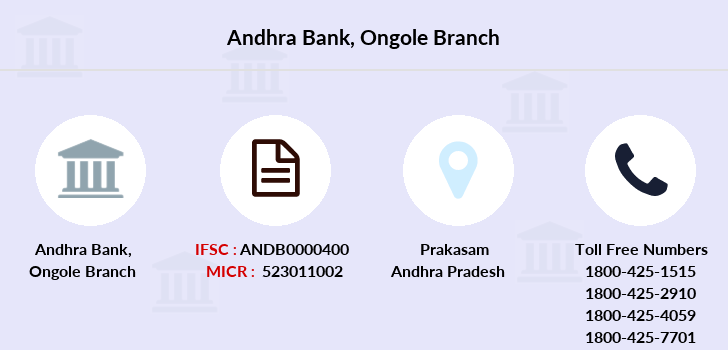 Andhra-bank Ongole branch