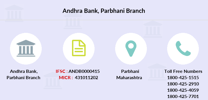 Andhra-bank Parbhani branch
