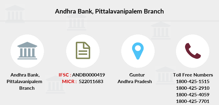 Andhra-bank Pittalavanipalem branch