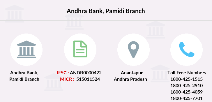 Andhra-bank Pamidi branch