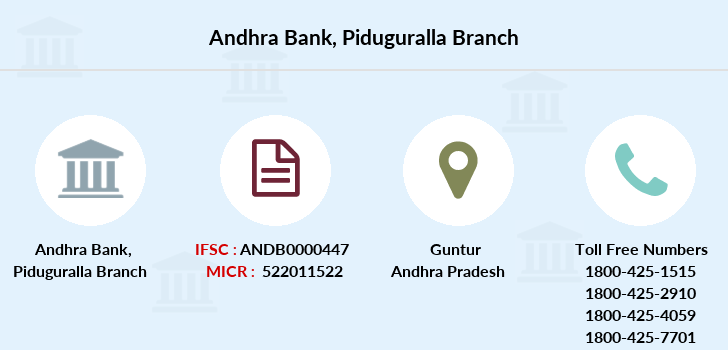Andhra-bank Piduguralla branch