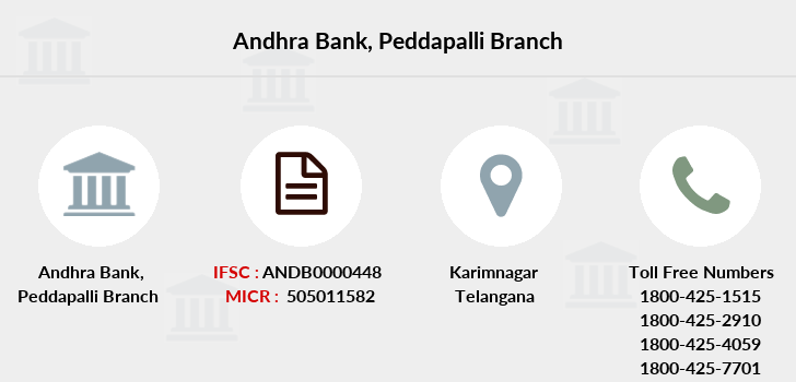 Andhra-bank Peddapalli branch