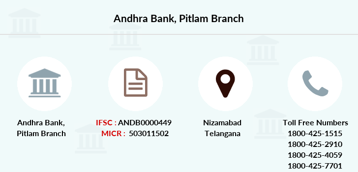 Andhra-bank Pitlam branch