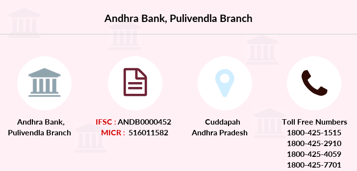 Andhra-bank Pulivendla branch