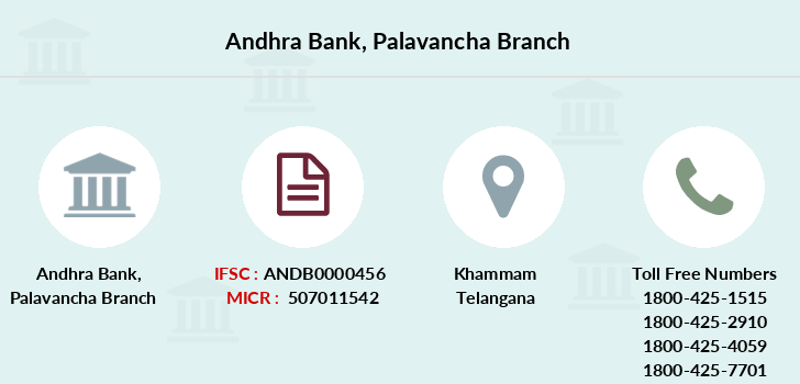 Andhra-bank Palavancha branch