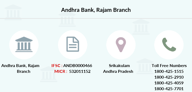 Andhra-bank Rajam branch