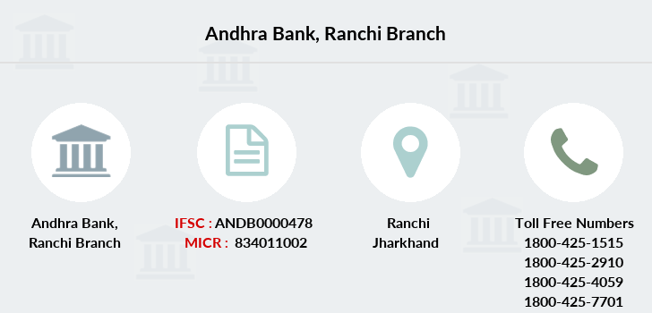 Andhra-bank Ranchi branch