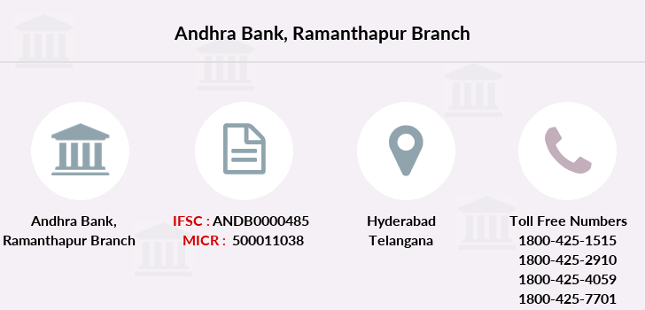 Andhra-bank Ramanthapur branch